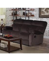 big deal on jessica dark chocolate velvet recliner sofa dark