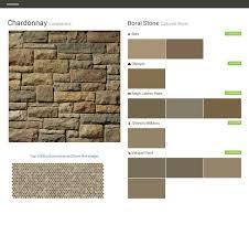 bucks county limestone cultured stone boral stone behr ppg