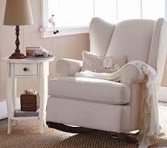 Pink Nursery Rocking Chair Chair Baby Glider Seat White Nursing Chair Pink Nursery Chair