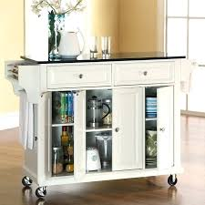 kitchen island cart granite top kitchen island cart with granite top islnd crt crosley black granite