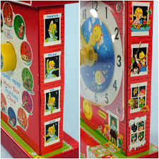 fisher price 1968 music box clock toy nostalgic vintage toys bizrate store ratings summary
