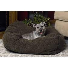 Hooded Dog Bed K U0026h Cuddle Cube Dog Bed In Mocha Petco