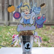 cinderella themed centerpieces 35 gorgeous disney princess birthday party ideas table