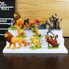 lion king cake toppers 9pcs the lion king figures cake toppers doll kids boy