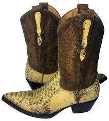 gringo womens boots size 12 gringo python snakeskin size 5 5 yellow boots