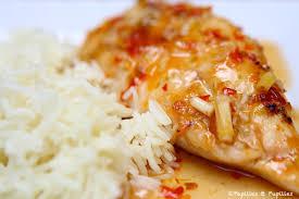 cuisiner citronnelle poulet à la citronnelle et à la sauce pimentée recette