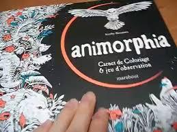 présentation du livre animorphia édition marabout  vidéos