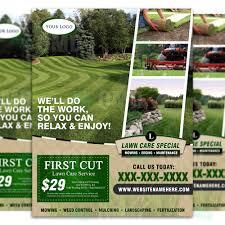 flyer u0026 ticket bundle u2013 lawn care branding u2013 the lawn market