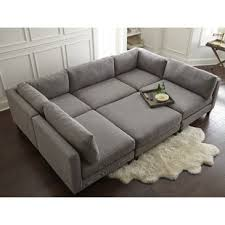 Sectional Sofas Modern Modern Contemporary Sectional Sofas You Ll Wayfair