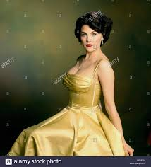 sherilyn fenn as elizabeth taylor film title liz stock photos