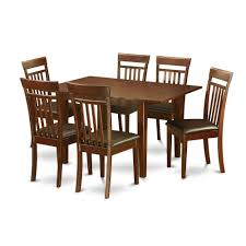Kitchen Nook Table And Chairs by 7 Piece Kitchen Nook Small Table And 6 Dining Room Chairs Small