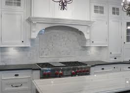 Marble Tile Kitchen Backsplash White Kitchen Backsplash Tile Ideas Home Design Ideas