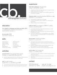 Contemporary Resume Examples by Modern Resume Design Modern Design Ideas