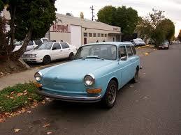 volkswagen squareback blue the street peep 1972 volkswagen type 3 squareback