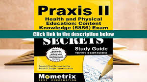 download praxis ii health and physical education content