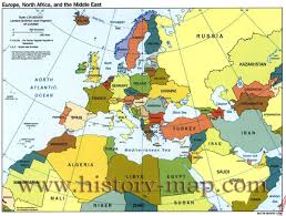 map of europe and north africa map of europe and north africa