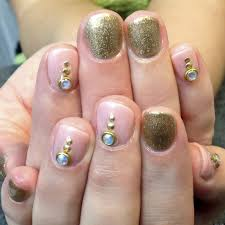 wedding nail art a glittery toast to the bride groom bride nail
