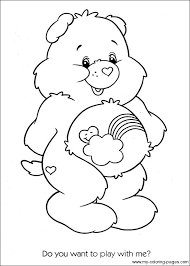 342 care bears images care bears coloring