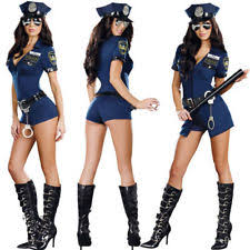 Halloween Costumes Adults Police Uniform Ebay