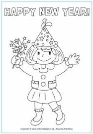 happy new year preschool coloring pages 10 best new year coloring pages images on pinterest happy new year