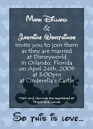 wedding quotes disney disney wedding invitation wording the wedding specialiststhe