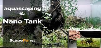 nano aquascape aquascaping the nano tank scapefu