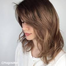 shoulder length layered haircuts for curly hair 70 brightest medium length layered haircuts and hairstyles