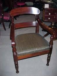 classical mahogany armchair sold joan bogart