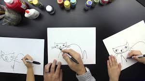 how to draw a halloween cat youtube