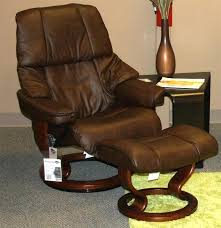 small leather chair with ottoman leather recliner chair with ottoman ctznzeus com