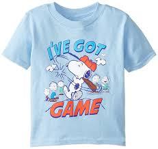 Snoopy Halloween Shirt by Amazon Com Peanuts Boys U0027 Short Sleeve T Shirt Fashion T Shirts