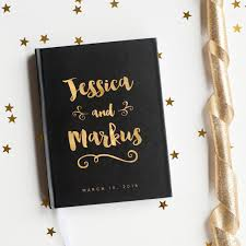 wedding gift book wedding guest book wedding guestbook custom guest book