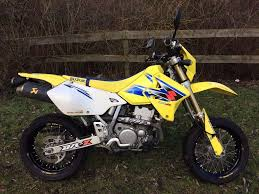 suzuki drz 400 sm yellow and blue great condition only 6763