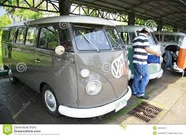 volkswagen classic bus volkswagen retro vintage car split bus editorial photo image