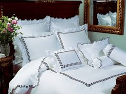 Embroidery Designs For Bed Sheets For Hand Embroidery Hampton Court Luxury Bedding Italian Bed Linens Schweitzer Linen