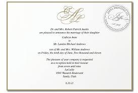 wedding invitation wording with son of