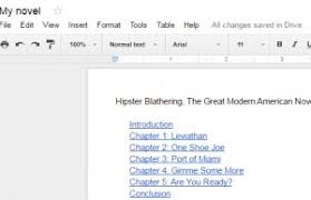 Google Doc Table Of Contents How To Add A Table Of Contents In Google Docs