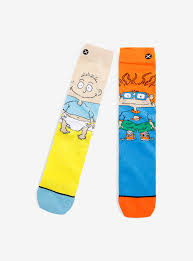 rugrats odd sox rugrats tommy and chuckie socks boxlunch
