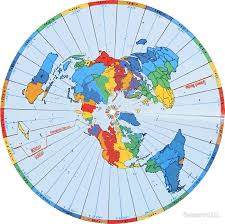 earth map flat earth designs flat earth map excellent colors stickers by