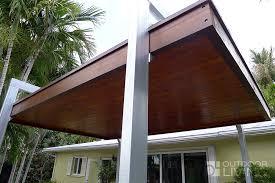 Pergolas In Miami by Free Standing Modern Pergola Outdoor Living Florida