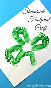 christmas footprint crafts for kids cheminee website