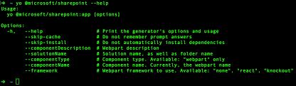 Read Write Think Generator Scaffold Projects Using Yeoman Sharepoint Generator Microsoft Docs