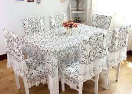 lace chair covers dining table cloth sets mitventures co