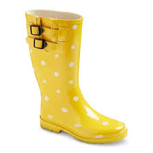 womens boots yellow s novel dot boot yellow 10 target