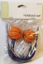 Basketball Curtains Girls Curtain Tie Backs Ebay