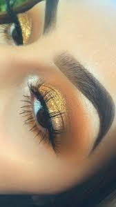 Cool Makeup Designs Best 25 Golden Eye Makeup Ideas On Pinterest Gold Eye Makeup