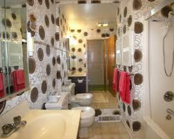 interior circle cool wallpaper ideas mixed with floor tile and