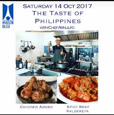 cooking cuisine maison cooking lesson by arnulfo ragadio maison bleu center of culinary