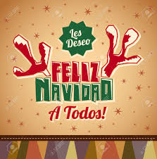 feliz navidad christmas card christmas card greetings in christmas lights decoration