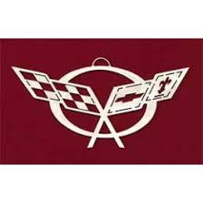 corvette tree ornament c5 logo